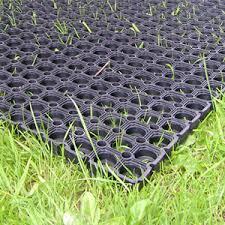 rubber grass mat